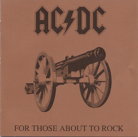 AC/DC – For Those About To Rock CD (used)
