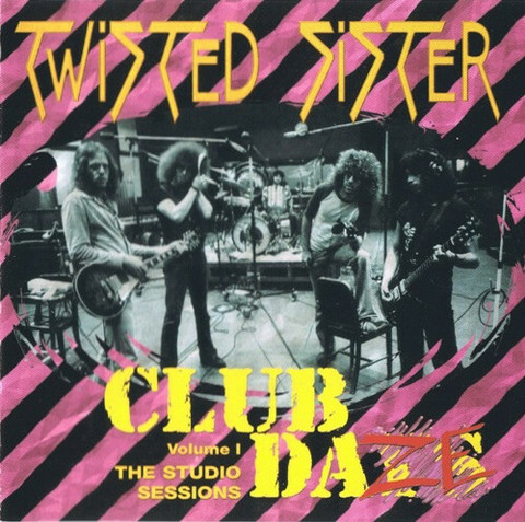 Twisted Sister – Club Daze Volume 1 - The Studio Sessions CD (käytetty)