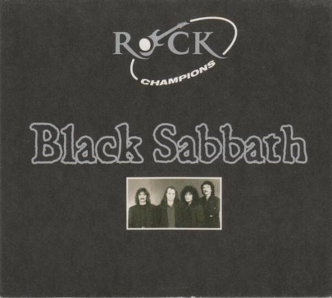 Black Sabbath – Rock Champions (CD, used)