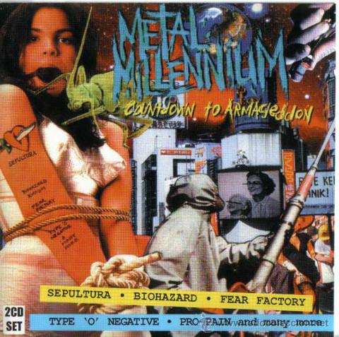Metal Millennium Countdown To Armageddon (CD, used)