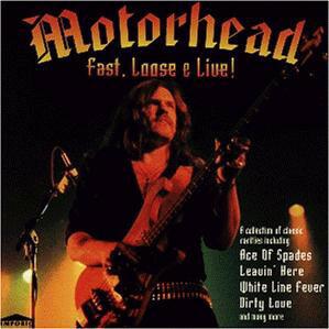 Motörhead – Fast, Loose & Live CD (käytetty)
