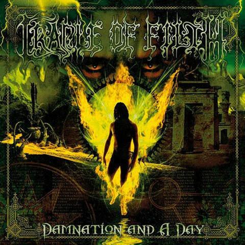 Cradle Of Filth – Damnation And A Day (CD, käytetty)