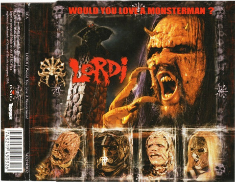 Lordi – Would You Love A Monsterman? (CD, used)