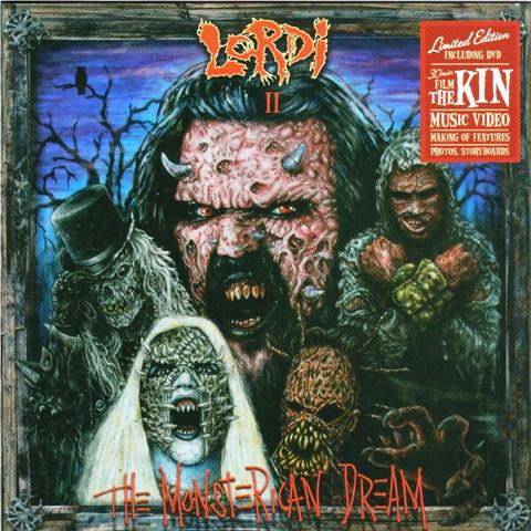 Lordi – The Monsterican Dream CD (käytetty)