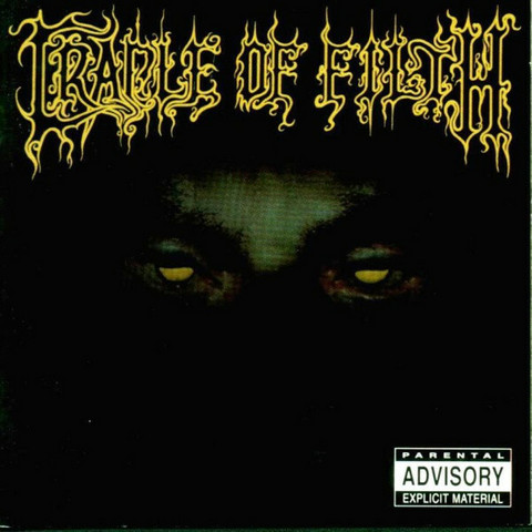 Cradle Of Filth – From The Cradle To Enslave (CD, used)