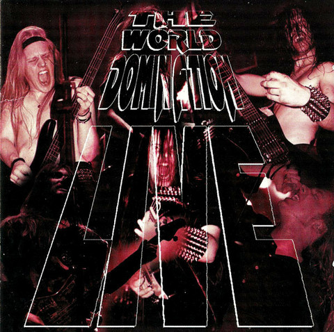 The World Domination Live (CD, used)