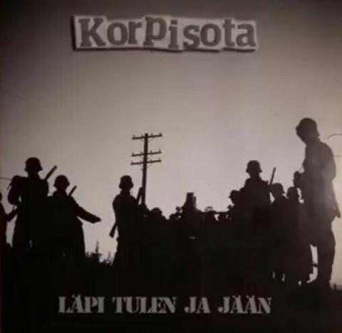Korpisota – Läpi Tulen Ja Jään (CD, used)