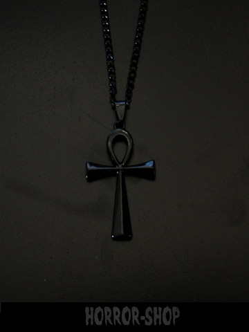 ANKH, black necklace, special