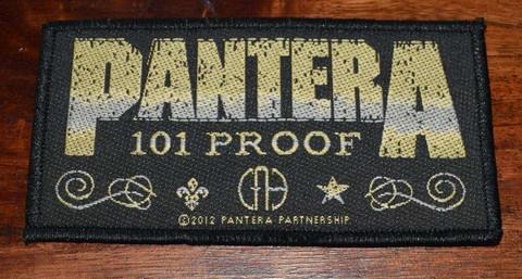 PANTERA 101 PROOF patch
