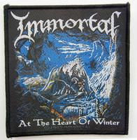 IMMORTAL At The Heart OF Winter - kangasmerkki