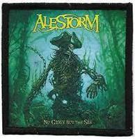 ALESTORM No Grave But The Sea - kangasmerkki