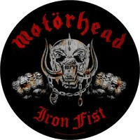 MOTÖRHEAD IRON FIST - patch