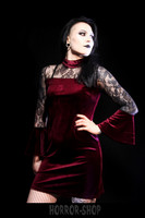 Velvet devil - red, mekko