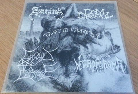 Capitis Damnare / Sarin  / Necroplasma / Dom Dracul – Satanic Butchery 7