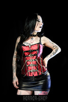Red corset with chains size S-M