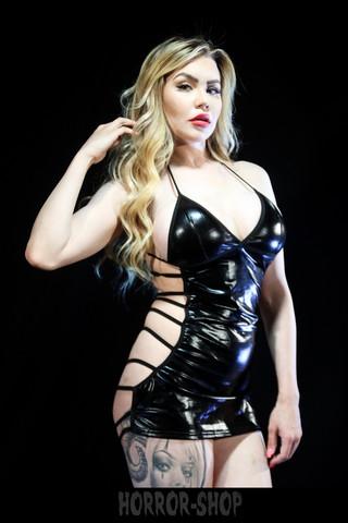 Sinner Wetlook dress, Size S-M