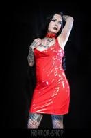 PVC mekko punainen (basic), koko L