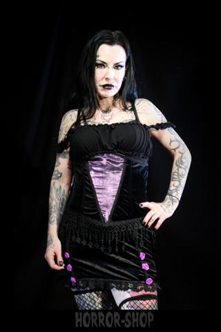 Sinister black and violet combination