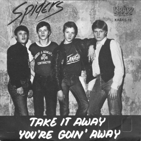Spiders – Take It Away / You're Goin' Away 7