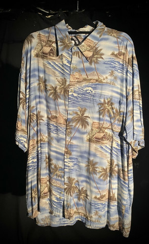 Hawaii shirt #69 SIZE XL