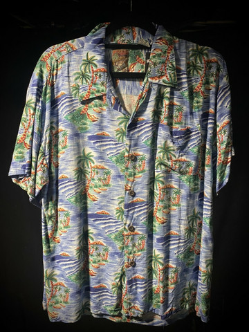 Hawaii shirt #101 SIZE XL