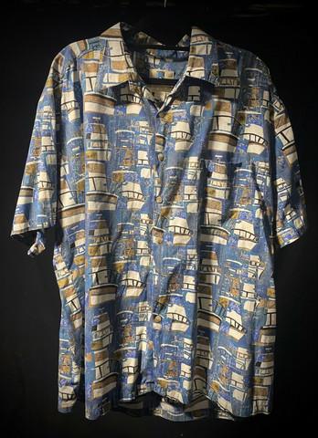 Hawaii shirt #110 SIZE XL