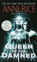The Queen of the Damned by Anne Rice (käytetty)