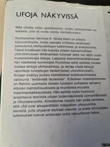 K. Gösta Rehn : Ufoja näkyvissä (used)