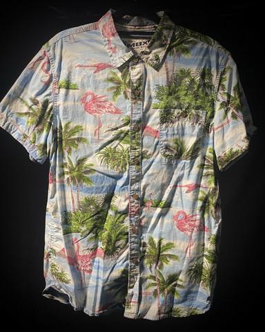 Hawaii shirt #165 SIZE M