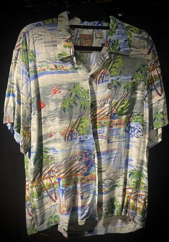 Hawaii shirt #185 SIZE M