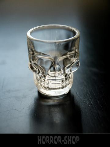Shot glass, skull