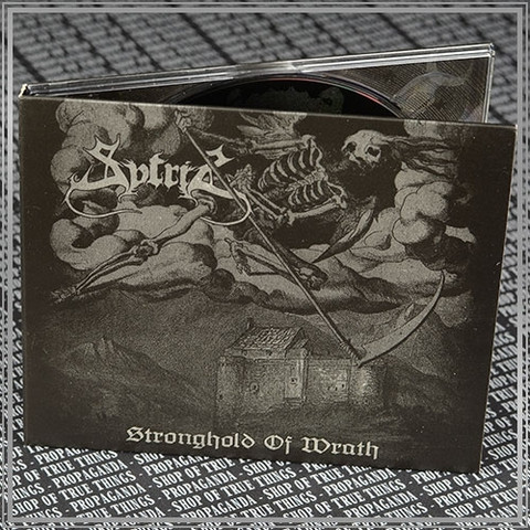Sytris – Stronghold Of Wrath (CD, uusi)