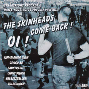 The Skinheads Come Back! (CD, new)