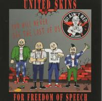 United Skins For Freedom Of Speech (cd, NEW)
