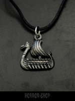 Dragonship necklace, small