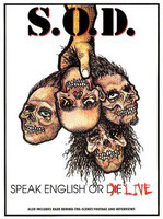 S.O.D. – Speak English Or Live (DVD, used)