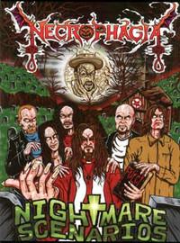 Necrophagia – Nightmare Scenarios (DVD, used)