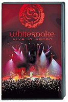 Whitesnake – Live In Japan (DVD, used)