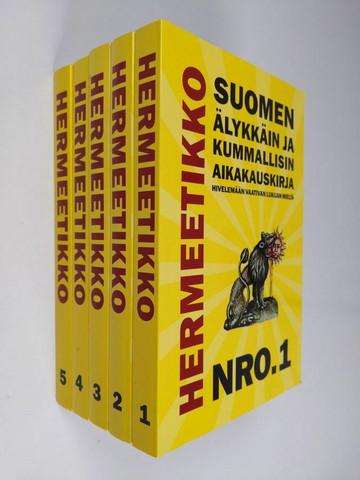 Hermeetikko- kirjasarja 1-5 (new)