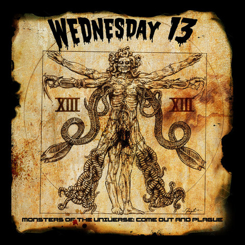 Wednesday 13 – Monsters Of The Universe: Come Out And Plague (CD, new)