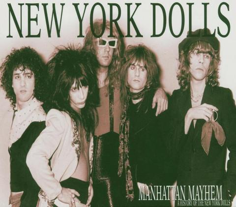 New York Dolls – Manhattan Mayhem (CD, new)