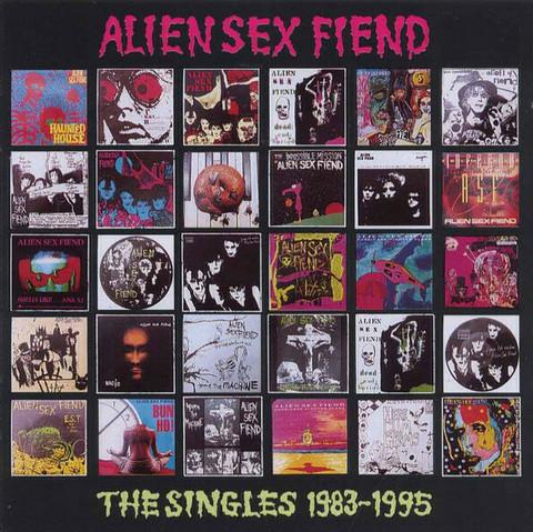 Alien Sex Fiend – The Singles 1983-1995 (CD, uusi)