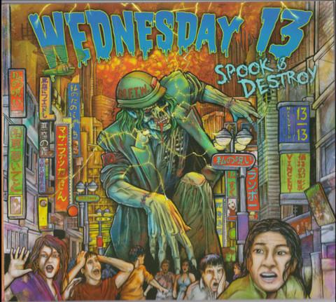 Wednesday 13 – Spook & Destroy (CD, new)