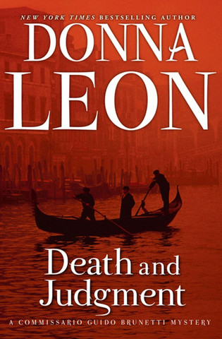 Death and Judgment (Commissario Brunetti #4) by Donna Leon (käytetty)