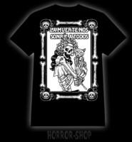 La muerte nos sonrie a todos t-shirt