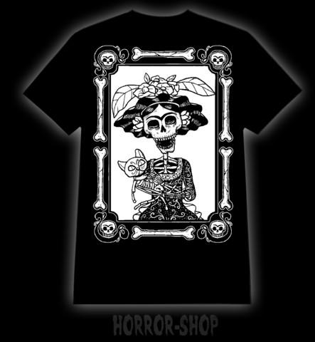 Muerto Frida, Dead cat t-paita