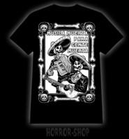 Musica muerte a para gente muerta t-shirt