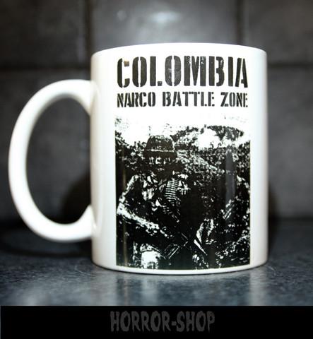 Colombia Narco battle zone -muki