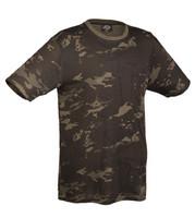 Black Green multitarn T-shirt