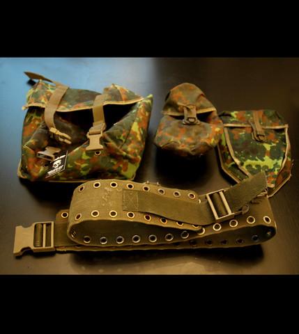 Combat vest, Bundeswehr (used)